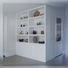 Living Room Wall Units, Ikea Living Room, Living Room Shelves, Living Room Interior, Hallway Shelving, Bookshelf Design, Cozy House, Diy Home Decor, Interior Design