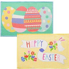 2 Pack Easter Printed Accent Rugs 20 inch x 30 inch KDS http://www.amazon.com/dp/B00ZGT5IA2/ref=cm_sw_r_pi_dp_6vxRwb1QXJSWQ