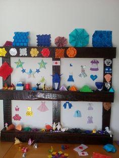 Origami Shapes, Frame, Home Decor, Picture Frame, Decoration Home, Room Decor, Frames, Home Interior Design, Home Decoration