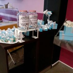 Tiffany's party  Candy bar