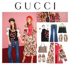 """Presenting the Gucci Garden Exclusive Collection: Contest Entry"" by littlelook on Polyvore featuring Gucci and gucci"