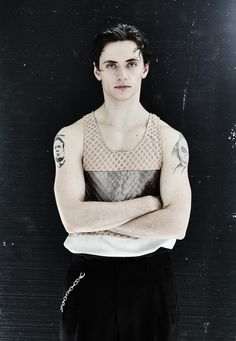 Sergei Polunin, ballet dancer (Royal Ballet's youngest  principal) ©Ivan Kaydash. TENMAG Magazine July-August 2014