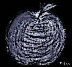 Shaking apple.