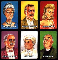 cluedo characters costumes - Google Search
