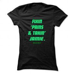 Fixin ... JAMIE - Cool Name Shirt ! - #summer tee #tshirt scarf. CHECK PRICE => https://www.sunfrog.com/LifeStyle/Fixin-JAMIE--Cool-Name-Shirt-.html?68278