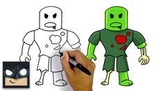 robot roblox piggy coloring pages robby - Búsqueda de ...