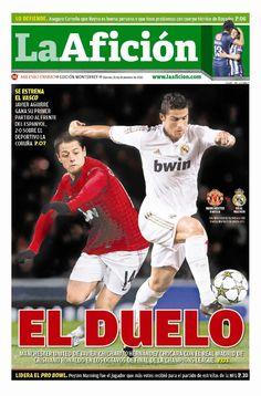 El Manchester del Chicharito Hernández chocará ante el Real Madrid de Cristiano Ronaldo