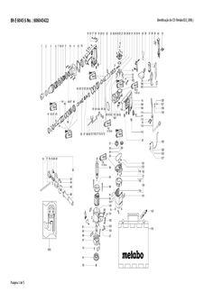 METABO - Bh E 6045 S   VISTA EXPLODIDA, PEÇAS, SERVIÇOS E PRODUTOS