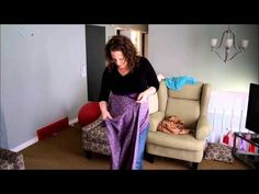 Belly wrap with a mid length - YouTube