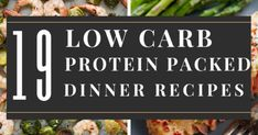 19 Low Carb High Protein Recipes That Makes Fat Burning Easy! Creamy Honey Mustard Chicken, Greek Lemon Chicken, Asparagus Fries, Chicken Asparagus, High Protein Low Carb, High Protein Recipes, Vegetarian Zucchini Lasagna, Healthy Orange Chicken, Slow Cooker Carnitas