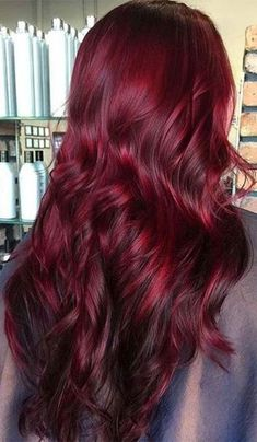 Red Hair Colors: Burgundy Hair Shades