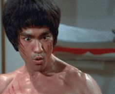 Bruce Lee — kungfutaichworld:     Bruce Lee pissed! from Enter...