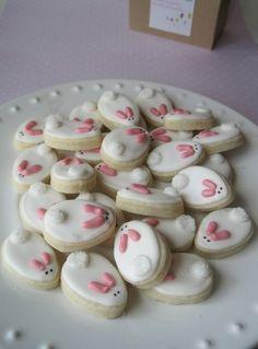 bunny sugar cookies by bertha