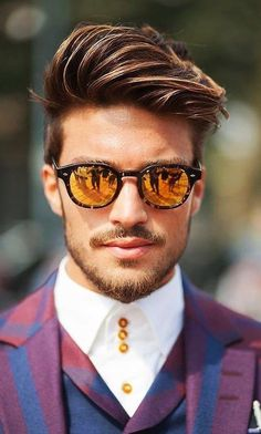 Best Short Haircuts, Popular Haircuts, Cool Haircuts, Haircuts For Men, Cool Hairstyles, Summer Hairstyles, Short Hair Man, Short Hair Cuts, Side Part Mens Haircut
