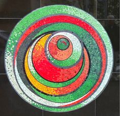 Loved Marian Shapiro's Mosaics - what patience! Marian's website - click here to visit