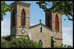 L'église de Grenade - sur - L'Adour...une belle surprise de l'intérieur des Landes. #Grenade #Landes #Patrimoine #Eglise  #Church