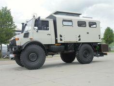 Mercedes Unimog Camper | Mercedes-Benz unimog 4x4 1300l 435U expeditie camper | Marktnet