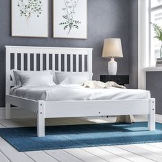 Bedmaster White Grace Low Foot End Double 4 6 Quot X 6 3