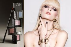 #NARS' New Dual-Intensity Eyeshadow... can be used wet and dry... Products will hit U.S. stores and narscosmetics.com July 201