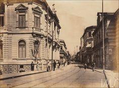 Viaduto do Chá e Rua Direita  Ano: década de 1890  Autor/Fonte: desconhecido/IMS