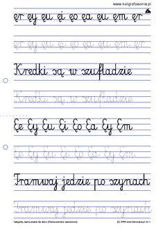 Pisanie - zestaw 1 | Kaligrafia, nauka pisania dla dzieci, szablony do nauki pisania liter do wydruku, szlaczki, sudoku, rysowanie, nauka liczenia