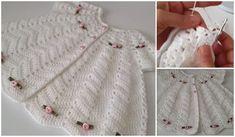 YAKADAN ÇALIŞILAN GENİŞ ETEKLİ BEBE YELEK TIĞ ÖRGÜ Crochet For Kids, Crochet Baby, Travel Size Products, New Baby Products, How Big Is Baby, Big Baby, Crochet Shorts, Baby Cardigan, Crochet Fashion