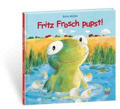 """Cover von """"Fritz Frosch pupst"""""""