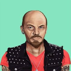 Vladimir Lenin  This Creative Artist Re-Imaged 18 World Leaders As Hipsters • Page 3 of 5 • BoredBug