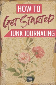 How to get started Junk Journaling - if you're learning how to make junk journals or are just getting started collecting ephemera, this guide will walk you through the steps to make it easier! journals How To Get Started With Junk Journaling Junk Journal, Bullet Journal, Journal Covers, Art Journal Pages, Art Journaling, Journal Prompts, Notebook Covers, Handmade Journals, Handmade Books