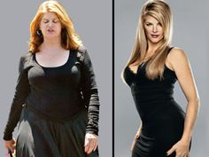 Kirstie Alley before and after, fit inpiration