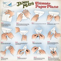 Fly away with James May - and learn how to make his ultimate paper plane | Radio Times