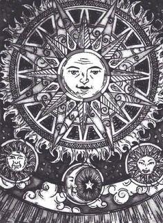 moon & sun.