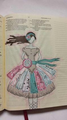 Bible journaling by Heather Brownlie McCuaig