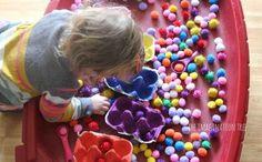 Go pom pom colour sorting.