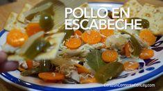 Receta de Pollo en Escabeche. Este platillo lo hago con frecuencia…