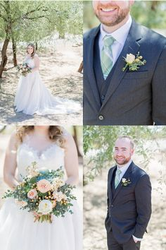 Romantic Desert Wedding with Bloom + Blueprint - Arizona Weddings Wedding Vendors, Weddings, Arizona Wedding, Big Day, One Shoulder Wedding Dress, Deserts, Groom, Wedding Day, Wedding Inspiration