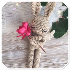 Magic shimmering bunny, a special gift for my baby!