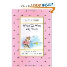 When We Were Very Young: Amazon.ca: A. A. Milne, Ernest H. Shepard: Books