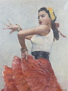 Pál Fried - Flamenco Dancer
