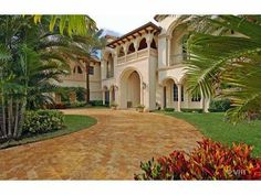 Mediterranean mansion, Boca Raton, Florida