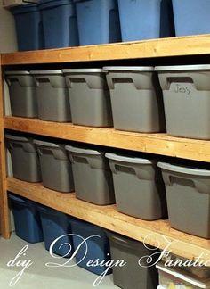 DIY Storage – Perfect For Garage or Basement | Organizing Tips
