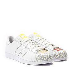 adidas Originals Superstar White S83368 Paint Pharrell Williams Shoes