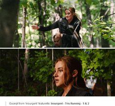 'Insurgent' featurette: Tris Running - 1 & 2