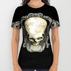 Vanitas Mundi. All Over Print Shirt by Pepetto