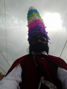 Personaje de la danza de Moros y Cristianos en San Juan Totolac Tlaxcala foto de Johanel Antonio