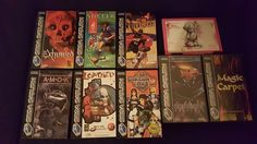 8 PAL Sega Saturn Game Bundle  #retrogaming #HotSS  with Loaded and Exhumed. Auction at only 1.20 GBP right now bargain. From Cyprus. Low feedback seller.