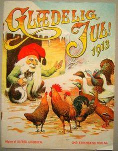 GLÆDELIG JUL 1913 (KLIPPEARK) - LOUIS MOE, CARL RØGIND
