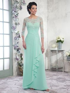 Cheap kay unger mother of the bride dresses mother dresses for weddings and mother of bride dresses for beach wedding on DHgate.com. chiffon a-line mother of the bride dresses scoop 3/4 long sleeves zipper with buttons back floor length pleats mother's dress formal gowns sold by lpdqlstudio are quality guaranteed.