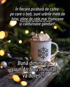 An Nou Fericit, Encouragement Quotes, Spiritual Quotes, Messages, Motivation, Mugs, Tableware, Christmas, Photography