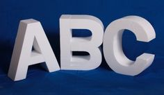 12 INCH LETTERS PHOTOGRAPHY PROPS (FULL SET)